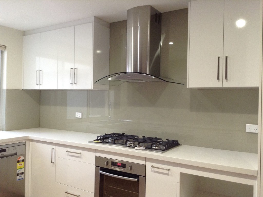 Neutral Splashbacks Kitchen Glass Splashback Perth