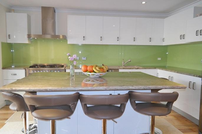 Green Splashbacks Perth Green Kitchen Splashbacks