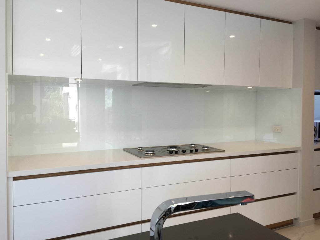 White Kitchen Splashback white kitchen splashback, glass splashbackss | perth