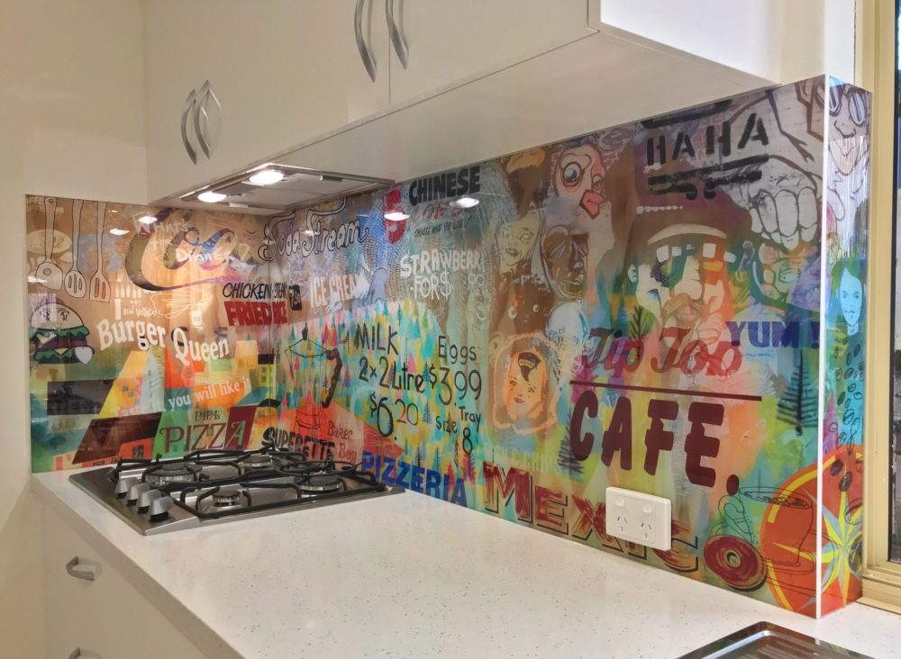 Picture On Glass Splashbacks