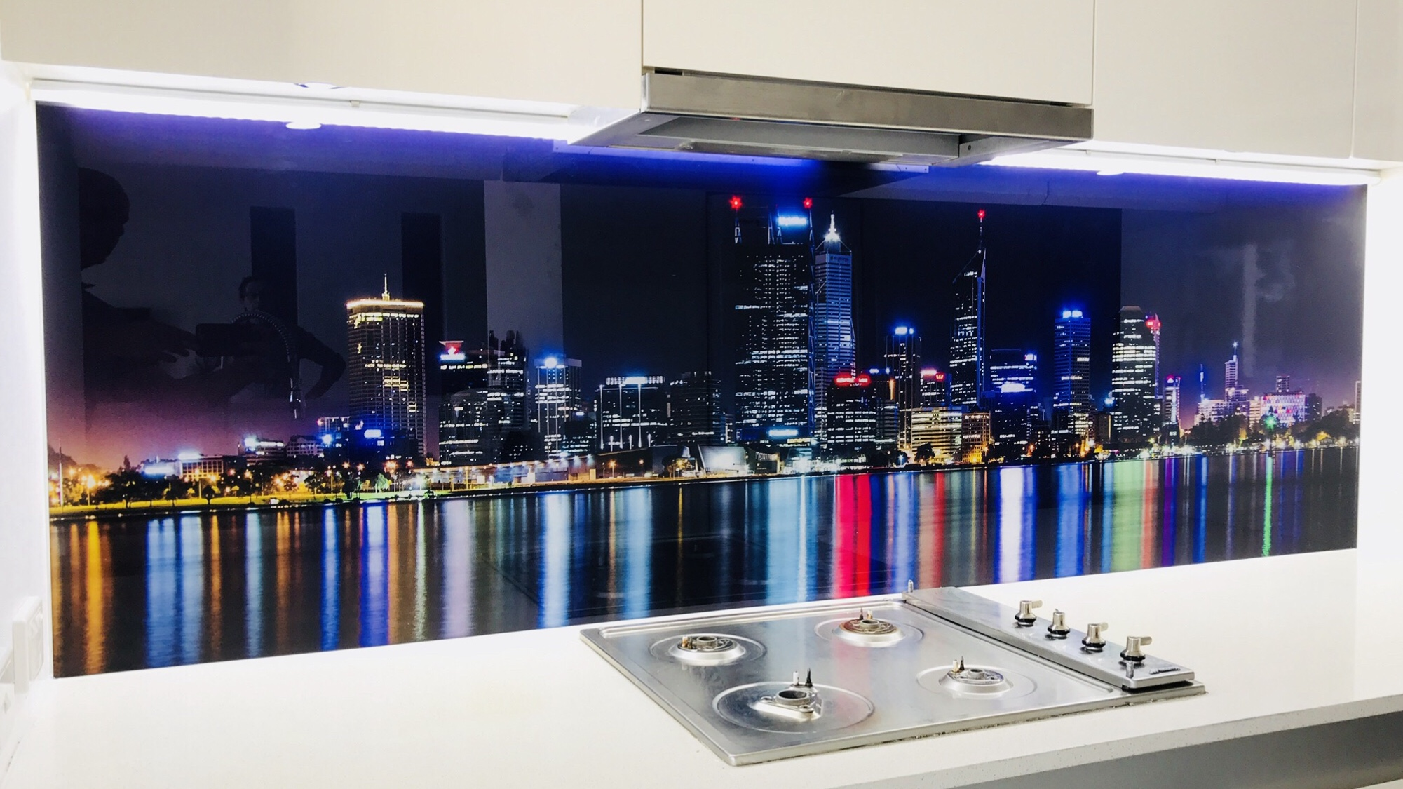 Print On Glass Splashbacks