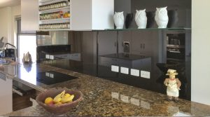 Black splashbacks