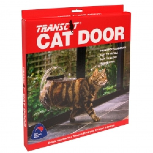 Cat door installation