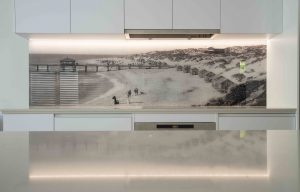 Print On glass pictured splashbacks