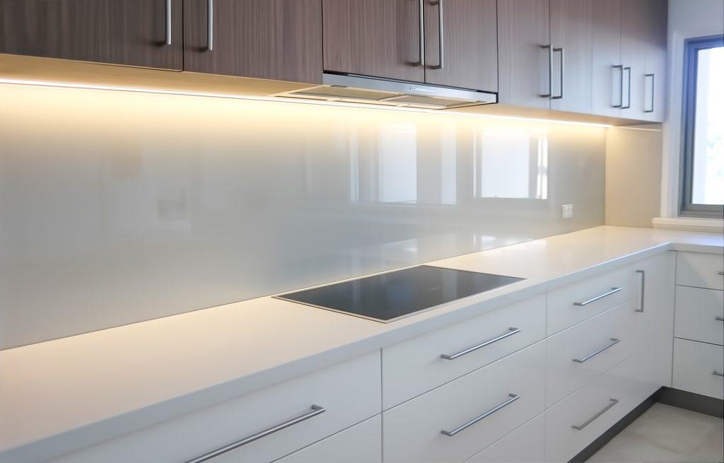White Glass Splashback, Glass Splashbacks Cost
