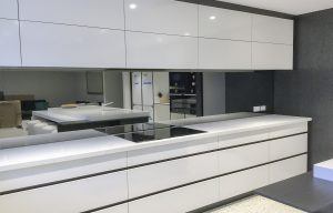 Mirrored kitchen Splashbacks