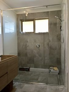 Wall to Wall shower Screen
